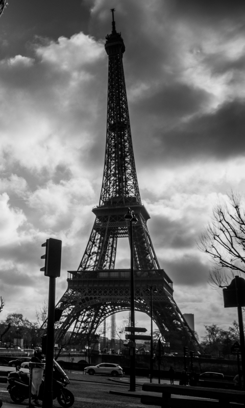 Man Made Eiffel Tower 480x800 Wallpaper Id 590147 Mobile Abyss