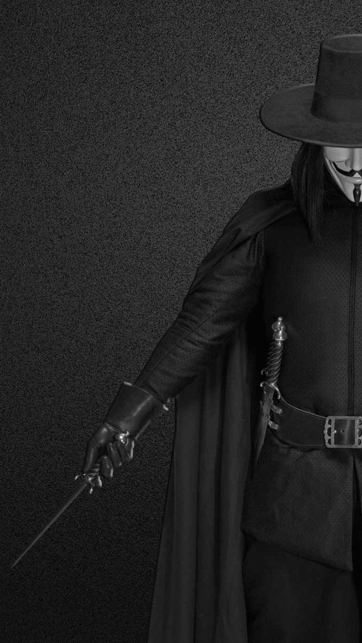 Movie V For Vendetta 720x1280 Wallpaper Id 590436 Mobile Abyss