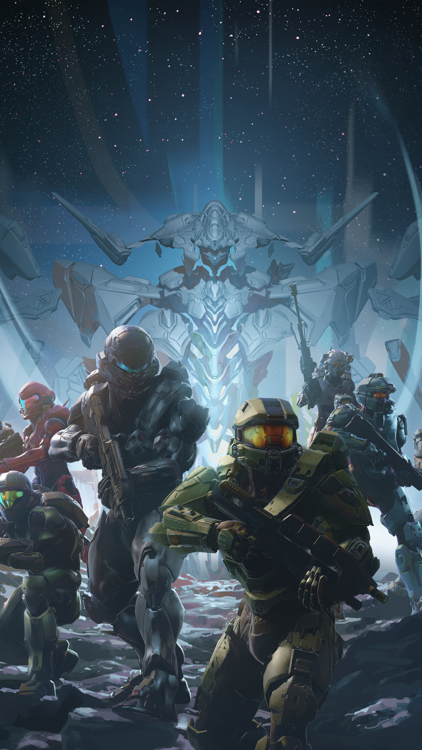 Video Game Halo 5 Guardians 1440x2560 Wallpaper Id 590567