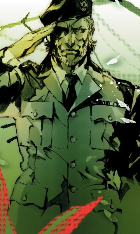 Video Game Metal Gear Solid 3 Snake Eater 480x800 Mobile Wallpaper