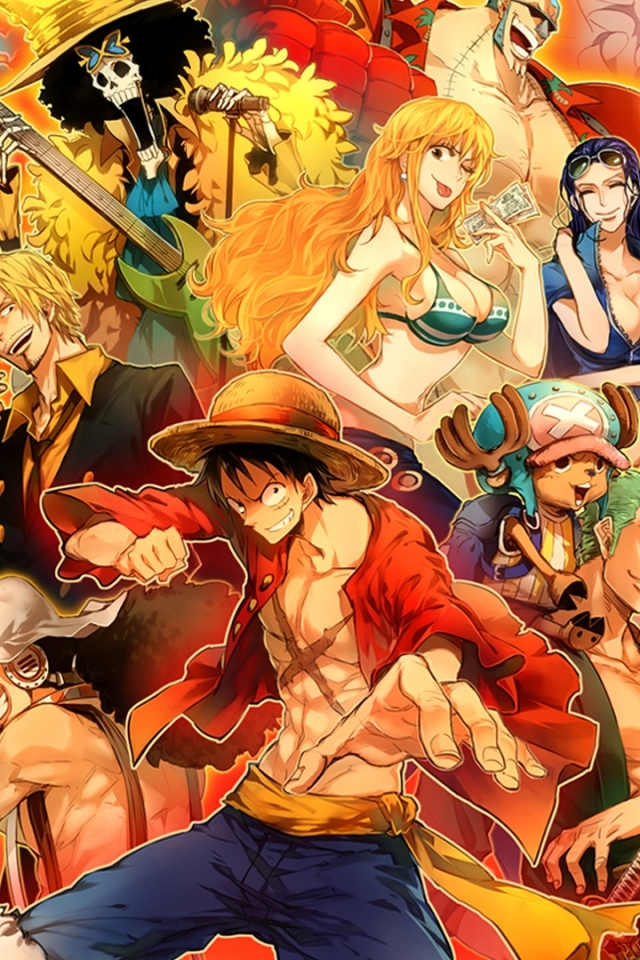 Anime One Piece 640x960 Wallpaper Id 591706 Mobile Abyss