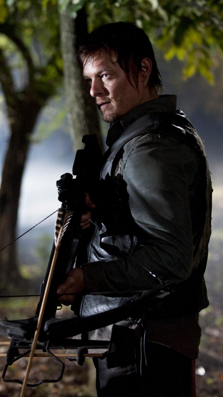 TV Show The Walking Dead 750x1334 Mobile Wallpaper