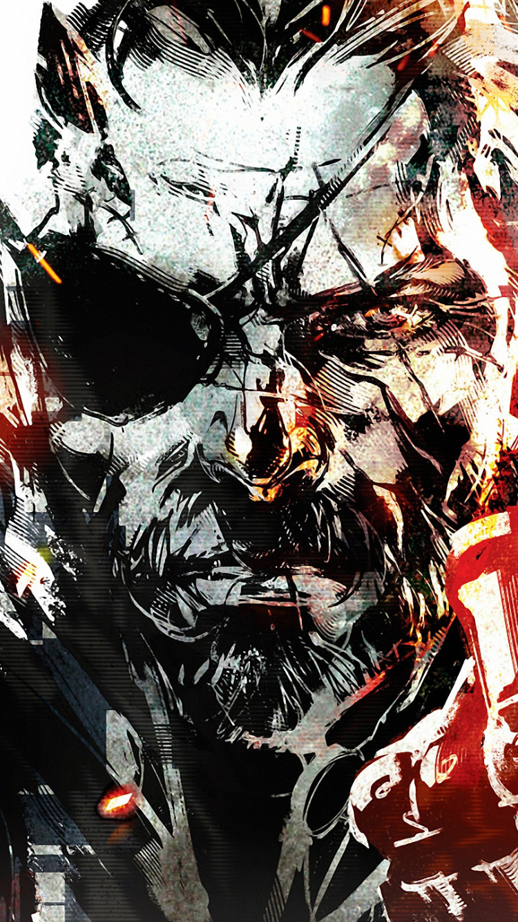 metal gear solid iphone 5 wallpaper the