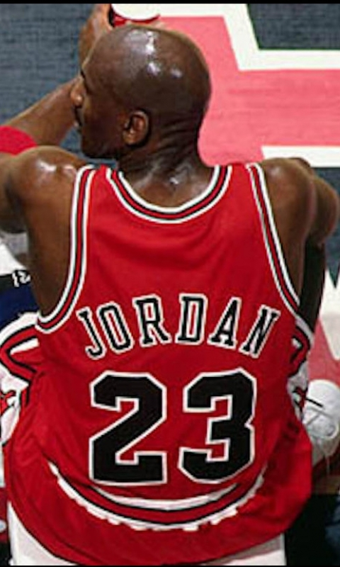 Sports / Michael Jordan (480x800) Mobile Wallpaper