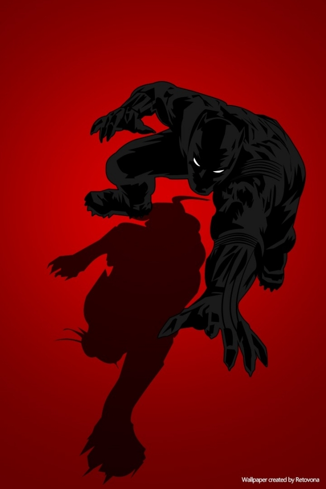 Comics Black Panther 640x960 Wallpaper Id 592660 Mobile Abyss