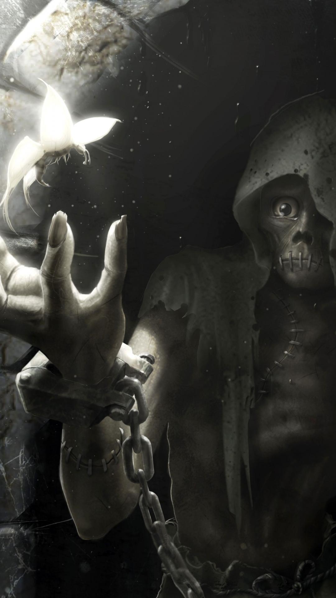 Dark Grim Reaper 1080x1920 Wallpaper ID 593452