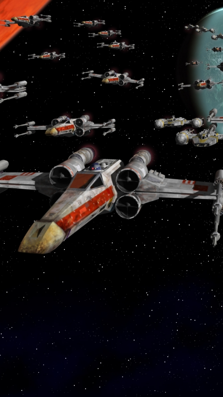 Star Wars X Wing Iphone Wallpaper