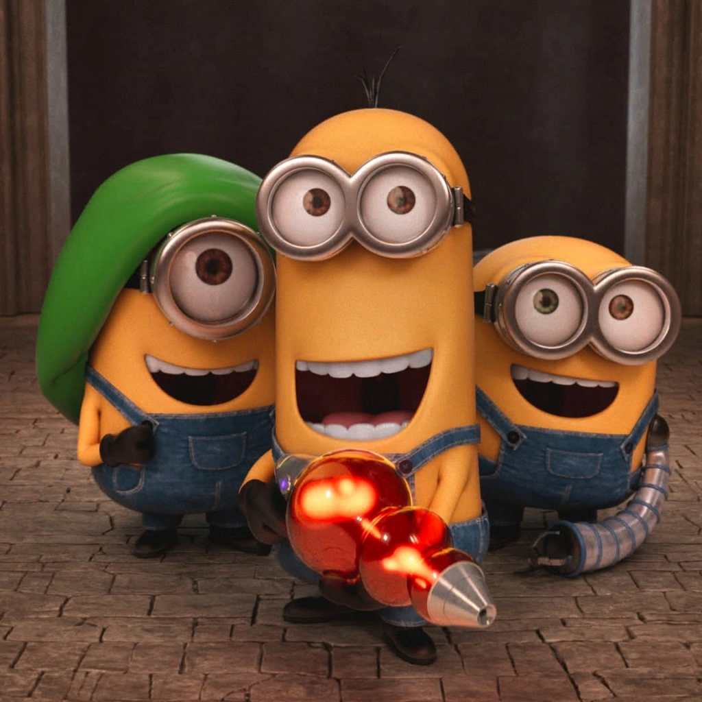 movie/minions (1024x1024) wallpaper id: 595336 - mobile abyss
