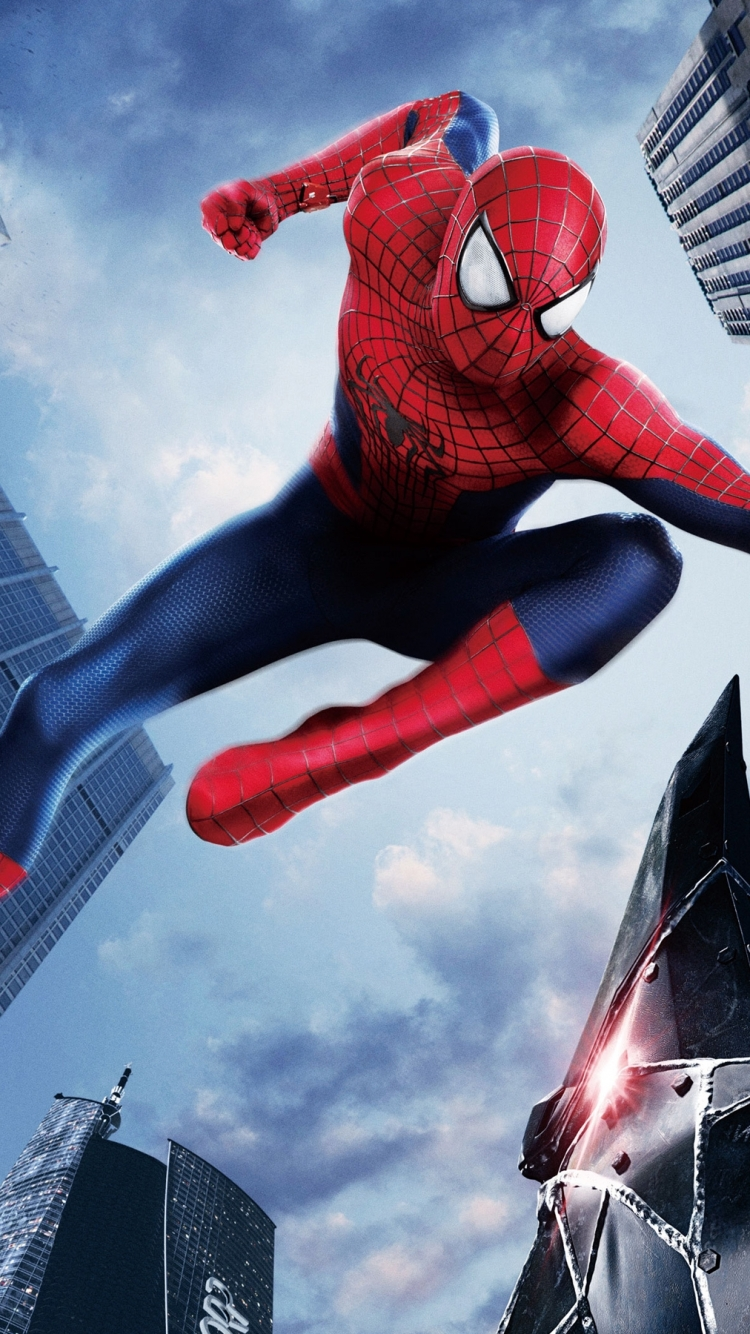 Movie The Amazing Spider Man 2 750x1334 Mobile Wallpaper