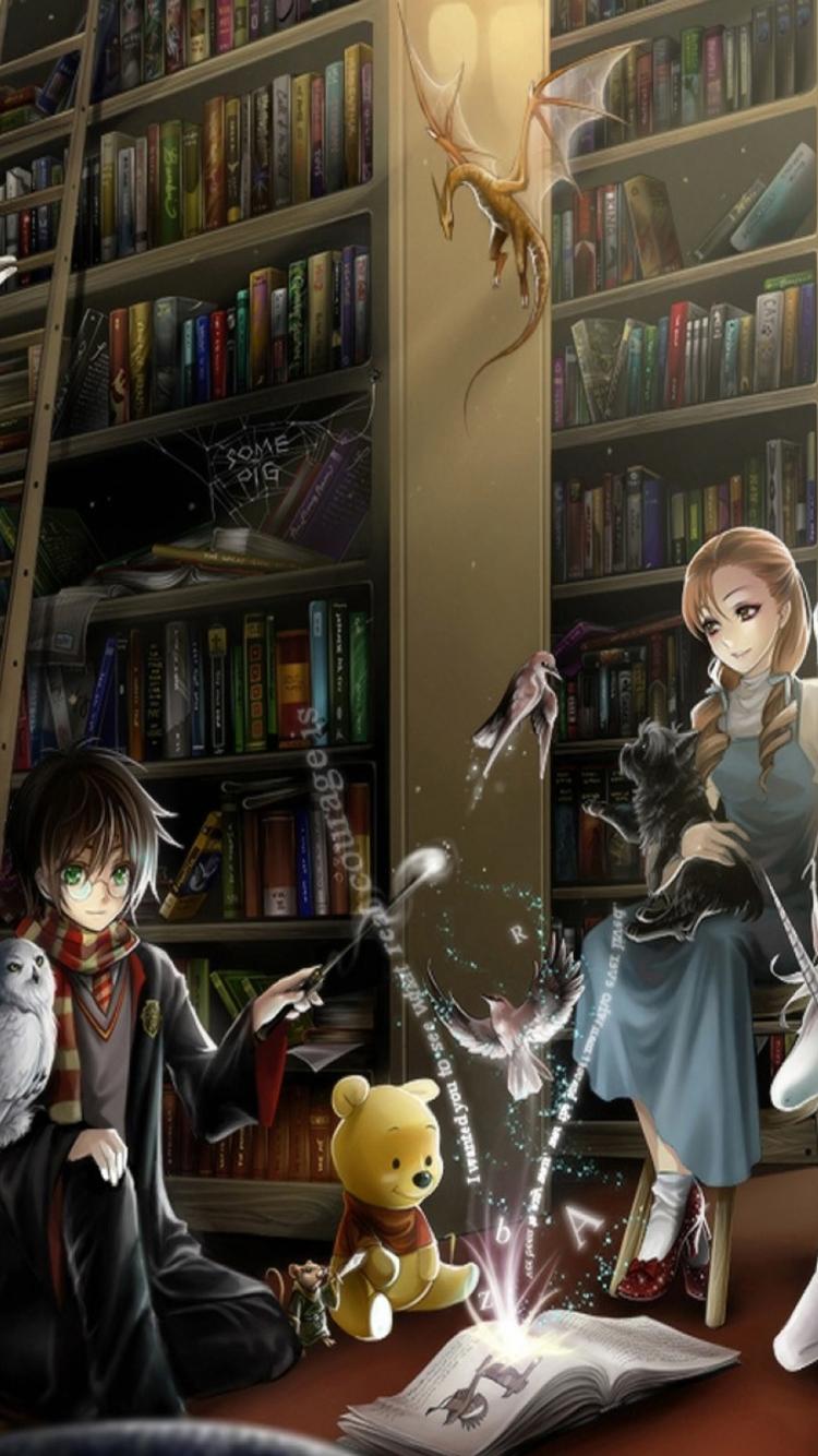 Fantasy Library Wallpaper | www.pixshark.com - Images ...