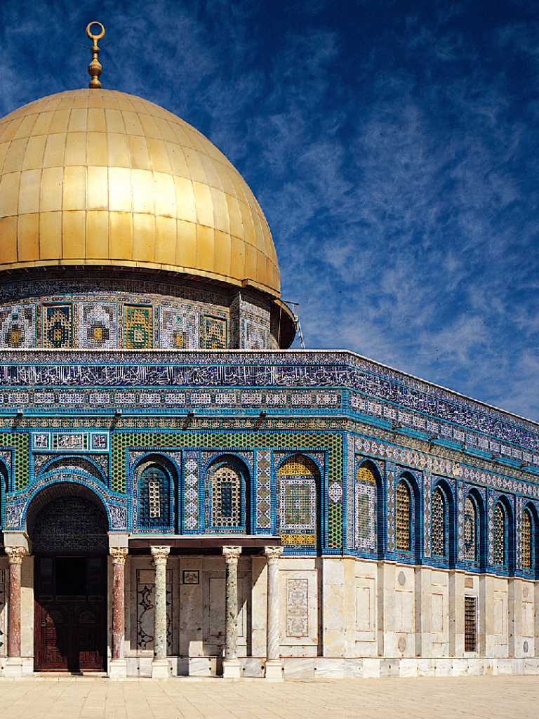 Religious Dome Of The Rock 768x1024 Mobile Wallpaper
