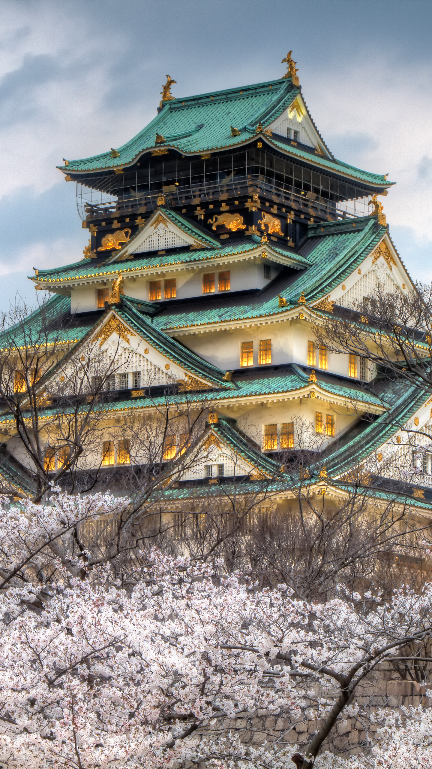 Photo Collection Wallpaper Osaka Castle