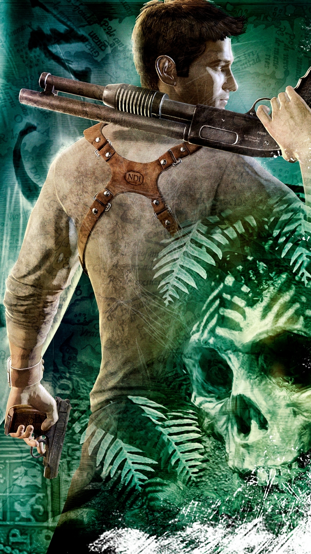 Video Game Uncharted Drakes Fortune 1080x1920 Mobile Wallpaper