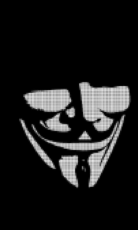 Dark Anonymous 480x800 Wallpaper Id 595880 Mobile Abyss