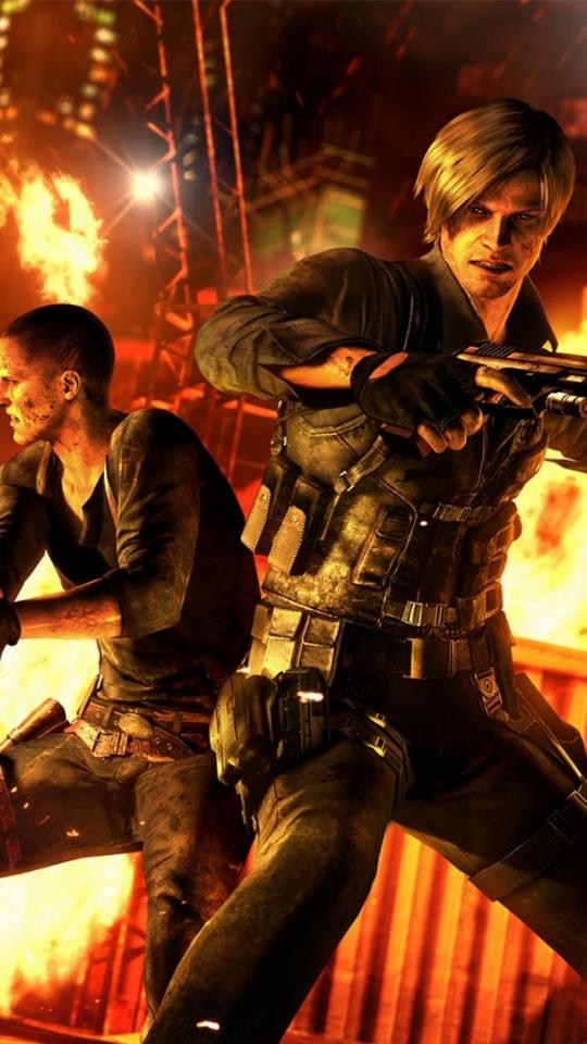 Video Game Resident Evil 6 540x960 Wallpaper Id 596328 Mobile