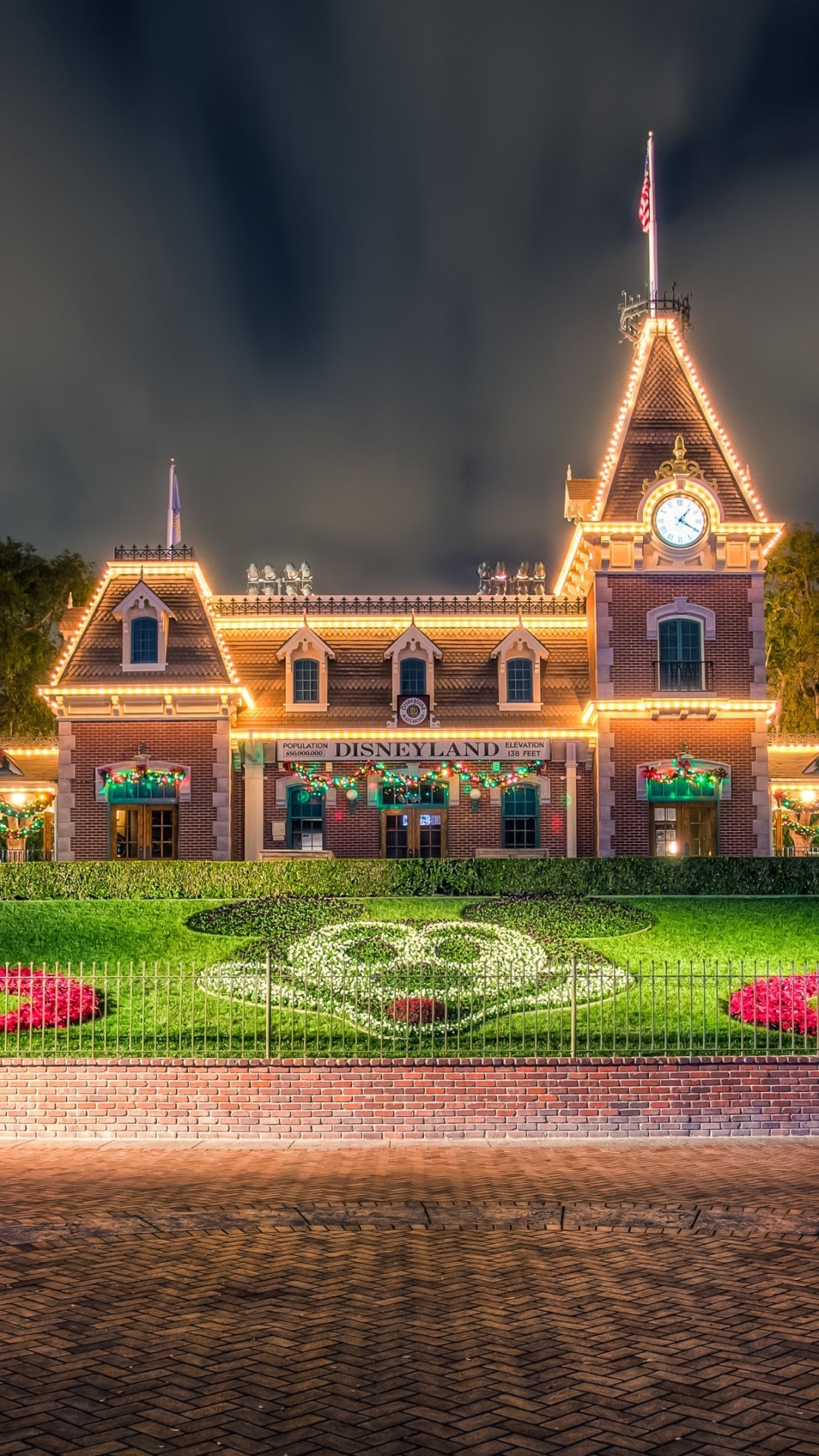 Disneyland Iphone Wallpaper Hd Wallpaper Collections