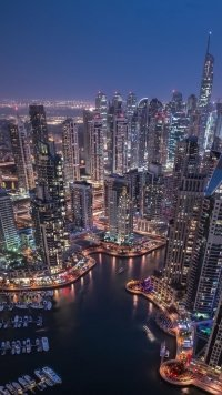 3 Dubai Marina Apple/iPhone 7 (750x1334) Wallpapers - Mobile Abyss