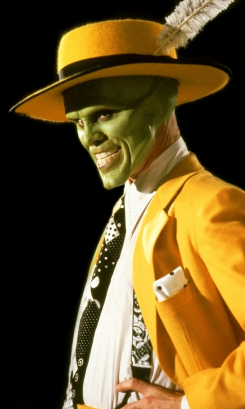 Movie/The Mask (480x80... Jim Carrey
