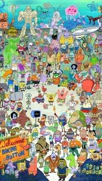 12 Spongebob Squarepants Apple IPhone 6 750x1334 Wallpapers