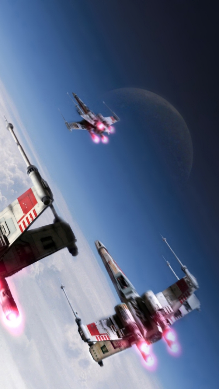 x-wing - apple/iphone 5 - 640x1136 - 6 wallpapers