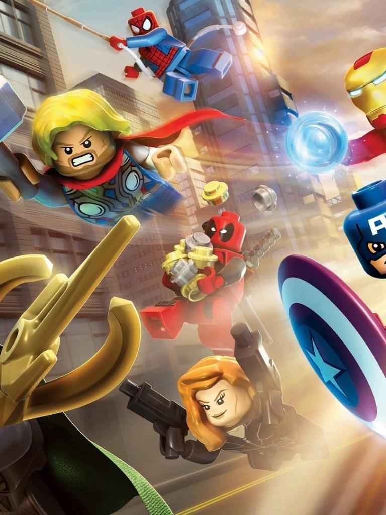 Video gamelego marvel super heroes 768x1024 wallpaper id 598500 wallpaper 598500 voltagebd Gallery
