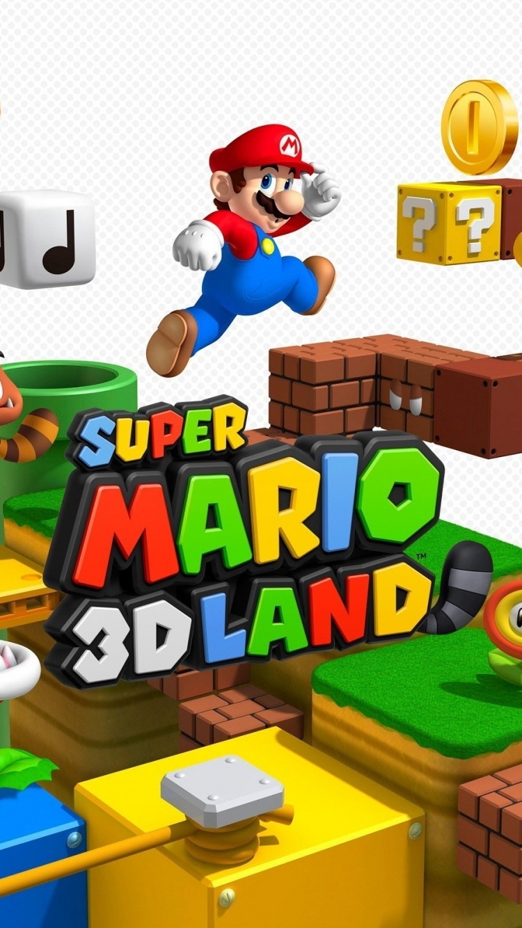 Video Game Super Mario 3d Land 750x1334 Wallpaper Id 599728