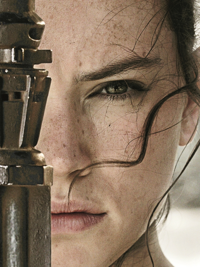 Movie Star Wars Episode VII: The Force Awakens Star Wars Daisy Ridley ...: https://mobile.alphacoders.com/r_33/wallpaper/599965/Movie-Star...