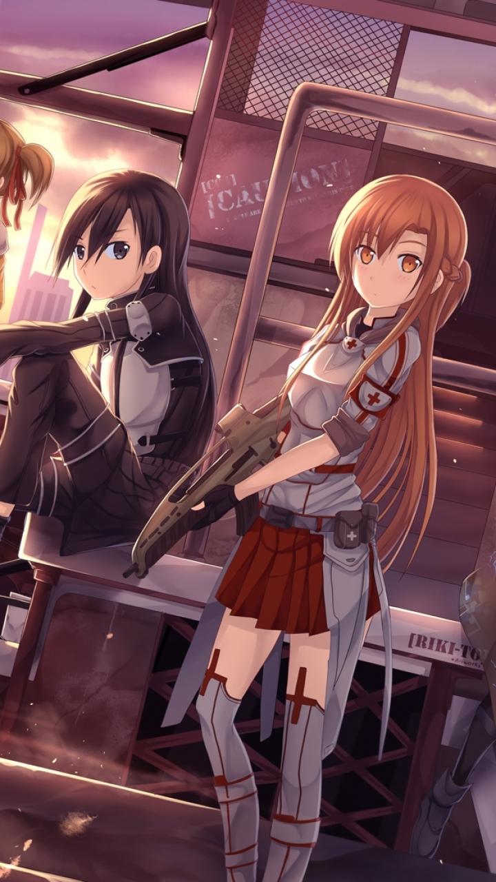 Anime sword art online ii lisbeth argo silica agil klein sinon kirito
