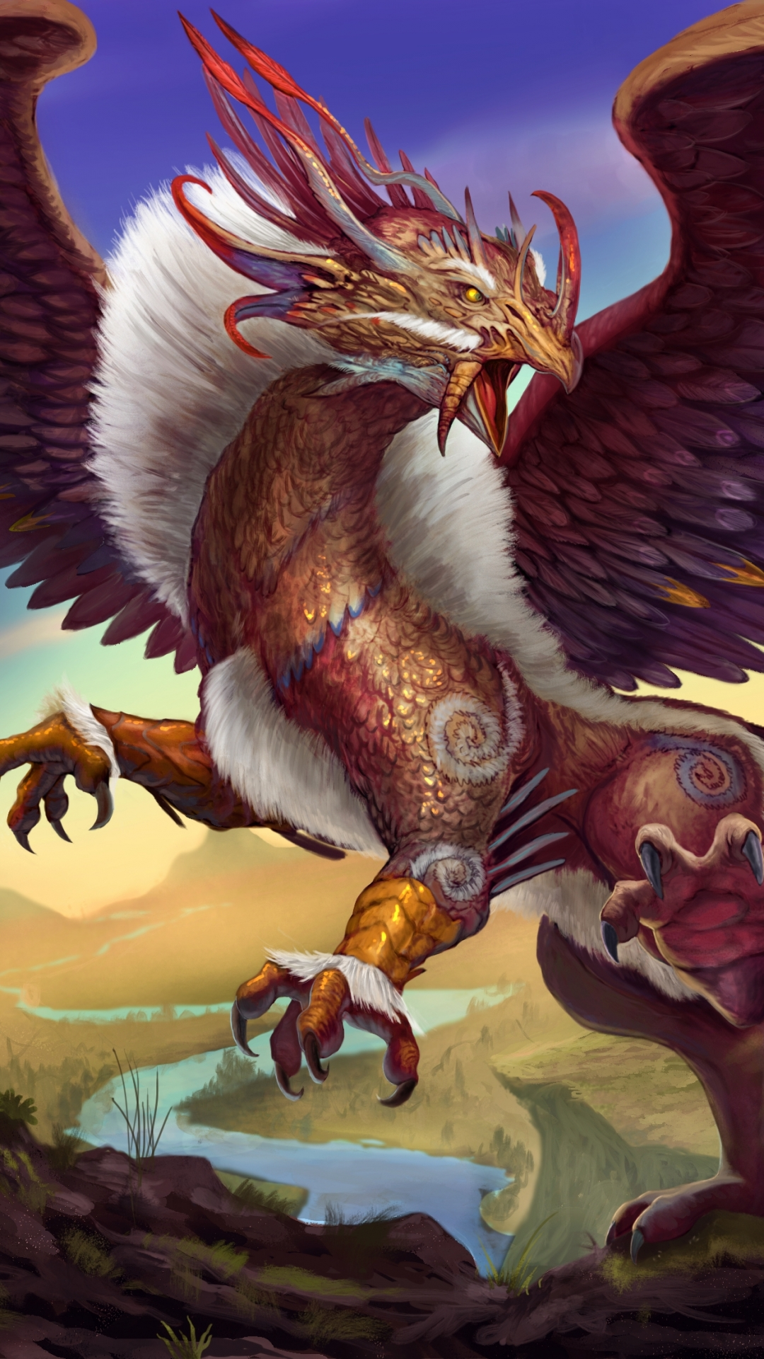 Griffins mythical creatures wallpaper for The griffin