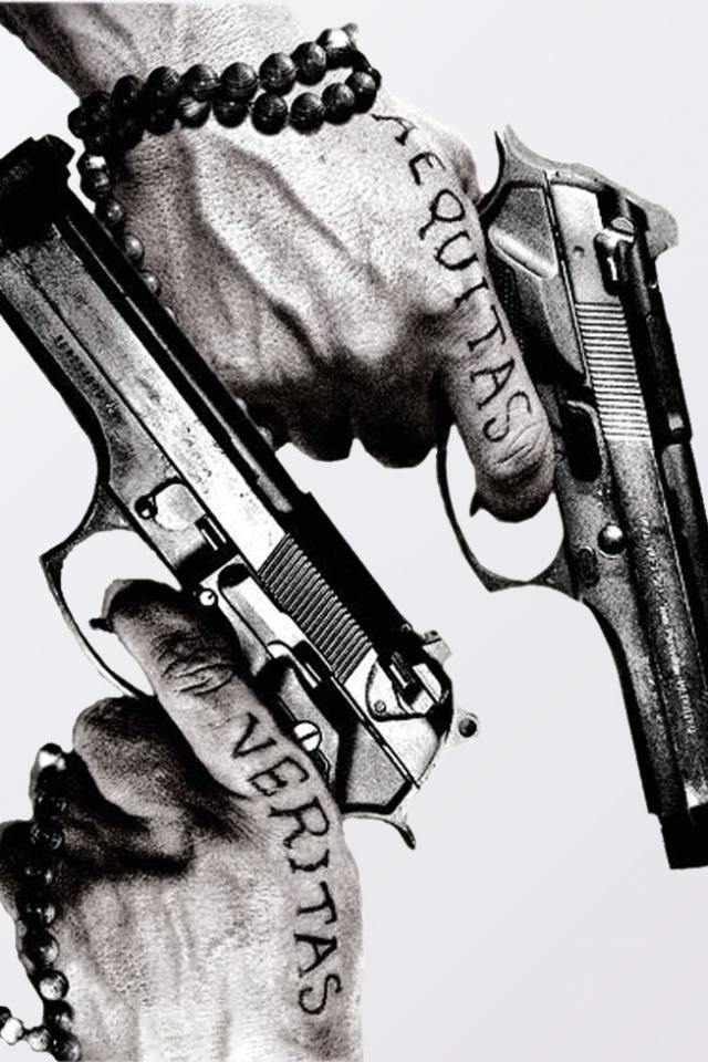 Movie The Boondock Saints 640x960 Mobile Wallpaper