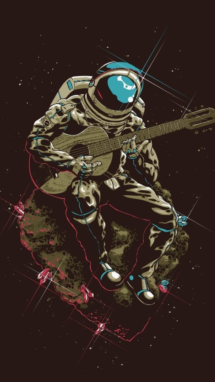 Unduh 45 Koleksi Wallpaper Animasi Astronot Paling Keren