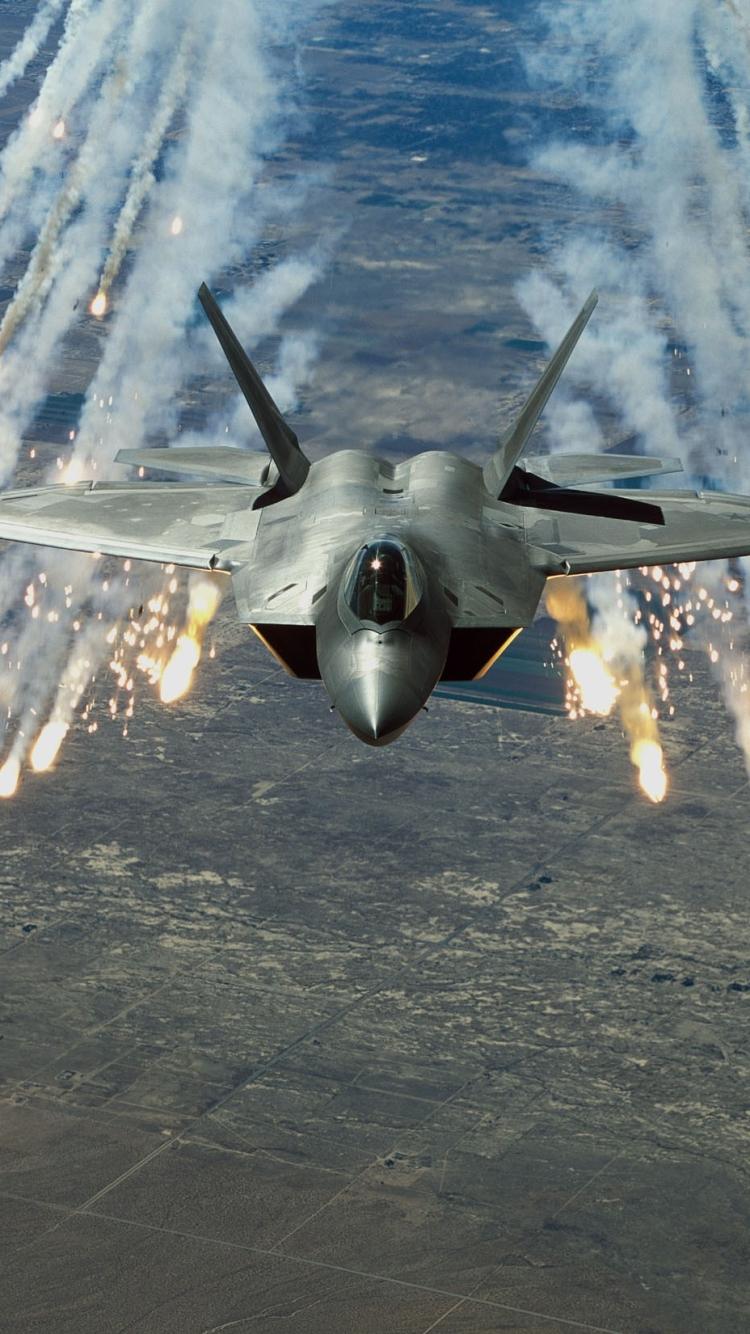 26  Lockheed Martin F-22 Raptor Wallpaper by Rufus Dewar ...