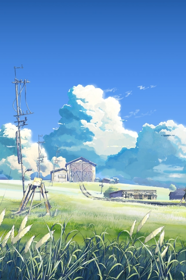 iPhone 4 - Anime/The Place Promised In Our Early Days - Wallpaper ...
