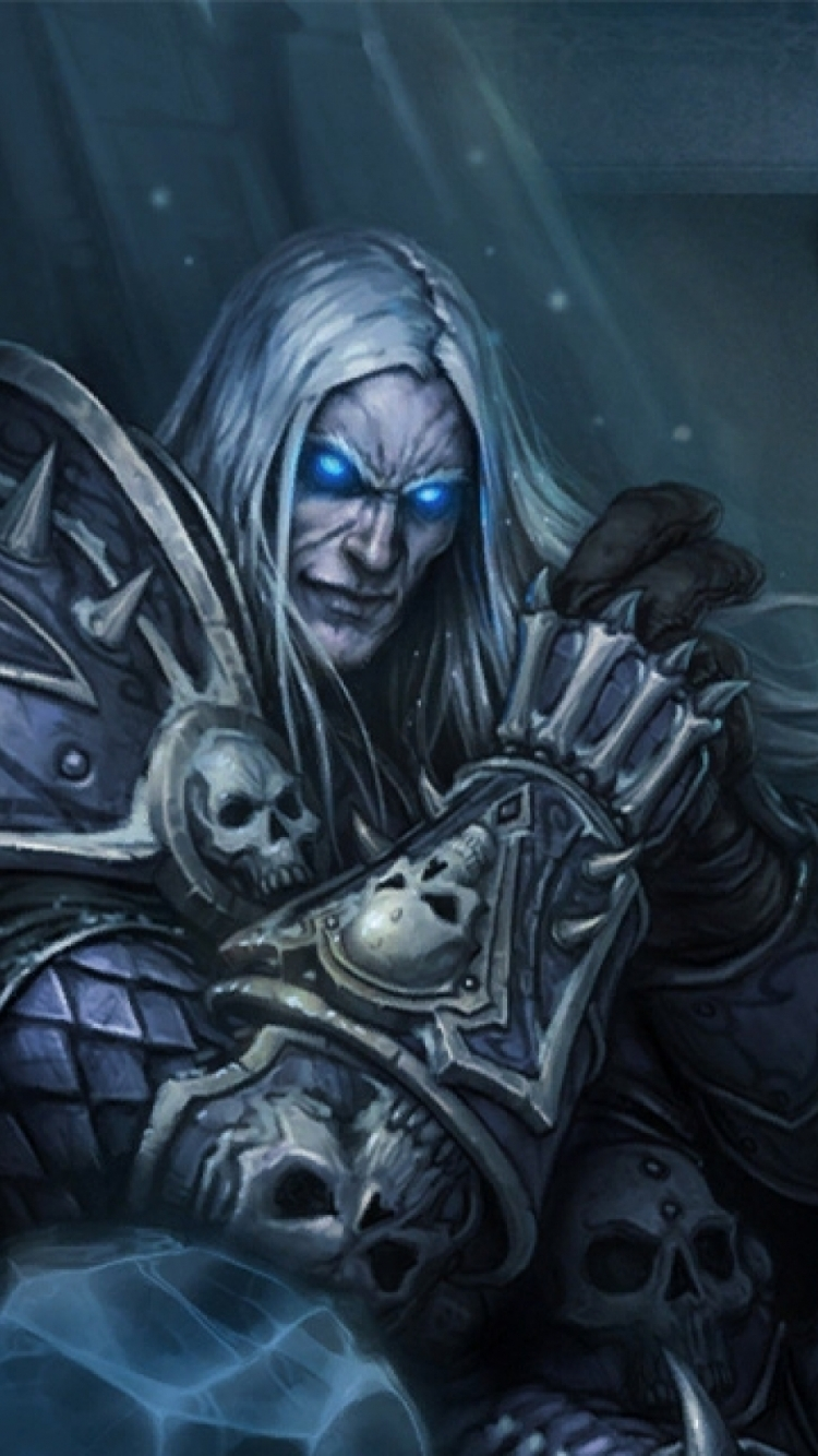 Video Game World Of Warcraft Wrath Of The Lich King 750x1334