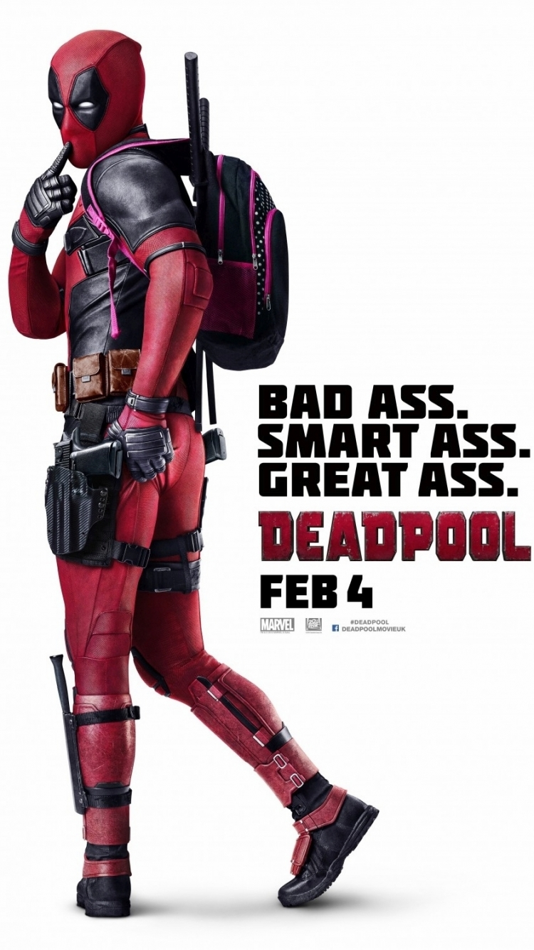 Movie Deadpool 750x1334 Mobile Wallpaper