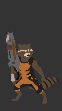31 Rocket Raccoon Apple IPhone 6 750x1334 Wallpapers