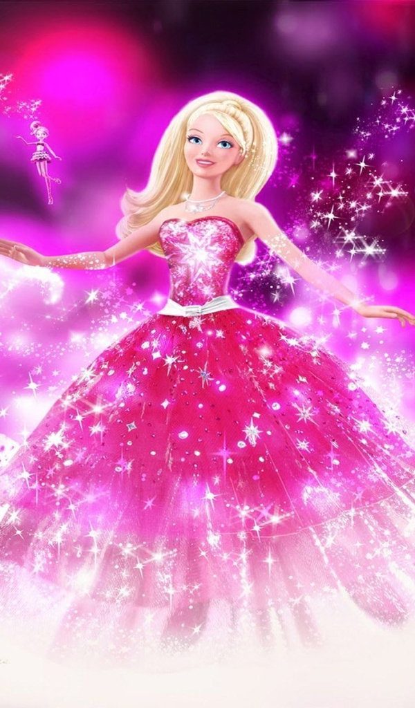 Lumia 521 520 cartoon barbie wallpaper id 609238
