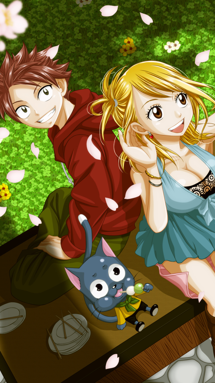 Anime Fairy Tail 750x1334 Mobile Wallpaper