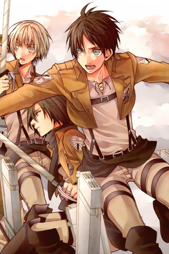 Attack On Titan Iphone Wallpaper Eren