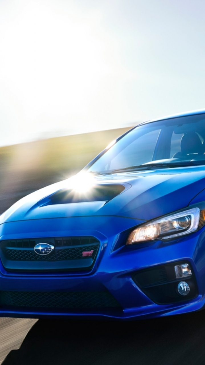 Vehicles 2015 Subaru Wrx Sti 720x1280 Wallpaper Id 61214
