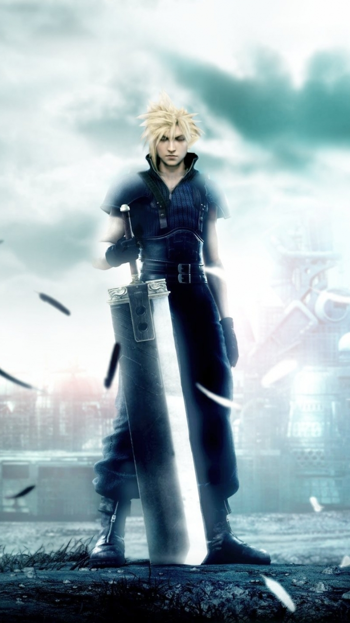anime/final fantasy vii: advent children (720x1280) wallpaper id