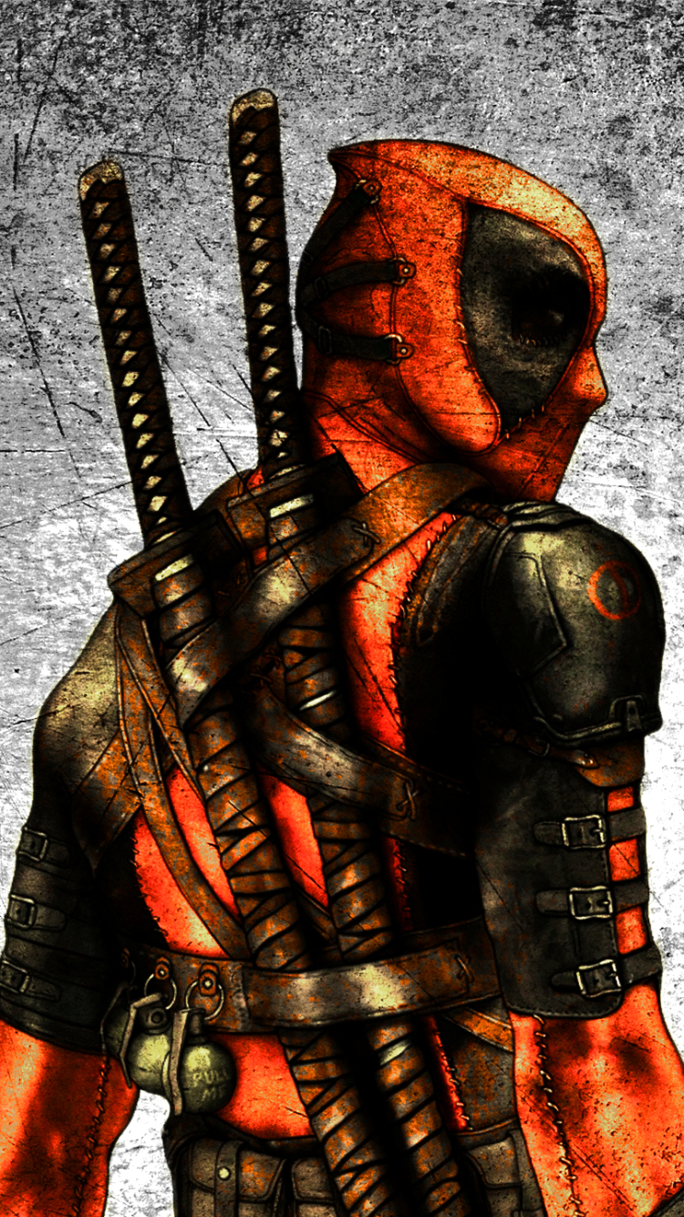 iPhone 7 ComicsDeadpool Wallpaper ID 615099