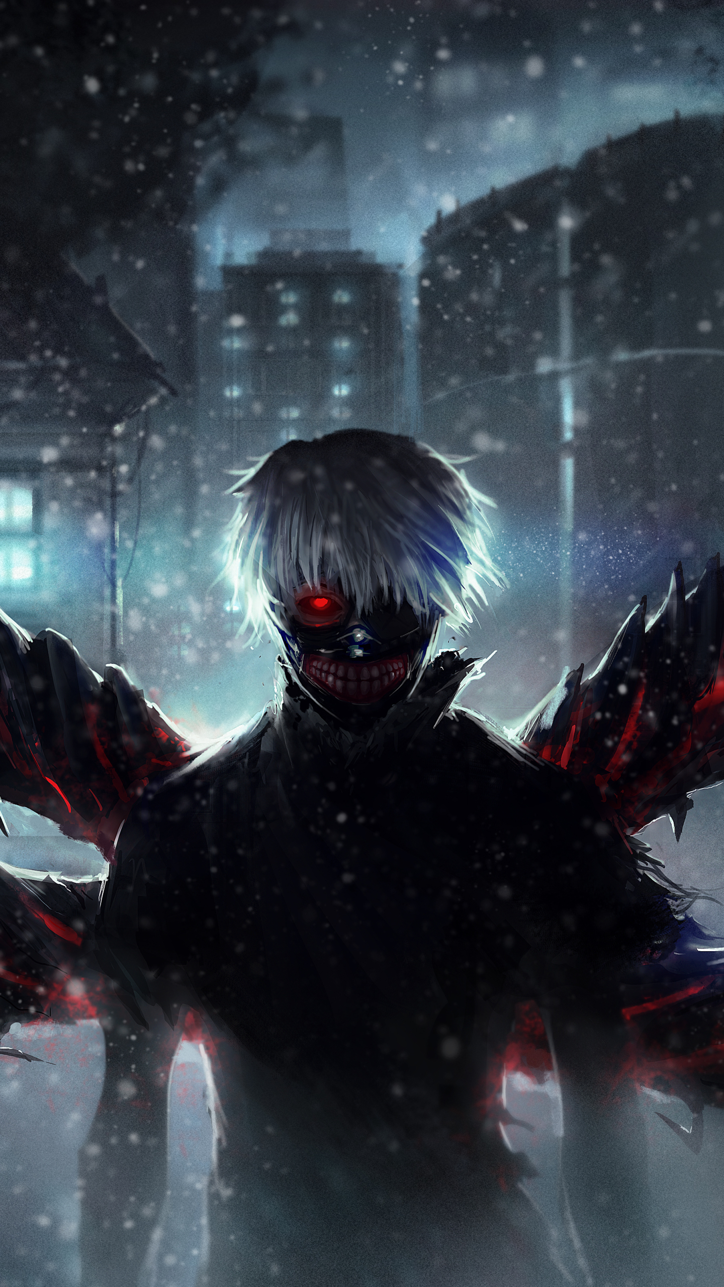 Lumia 640 Animetokyo Ghoul Wallpaper Id 615104