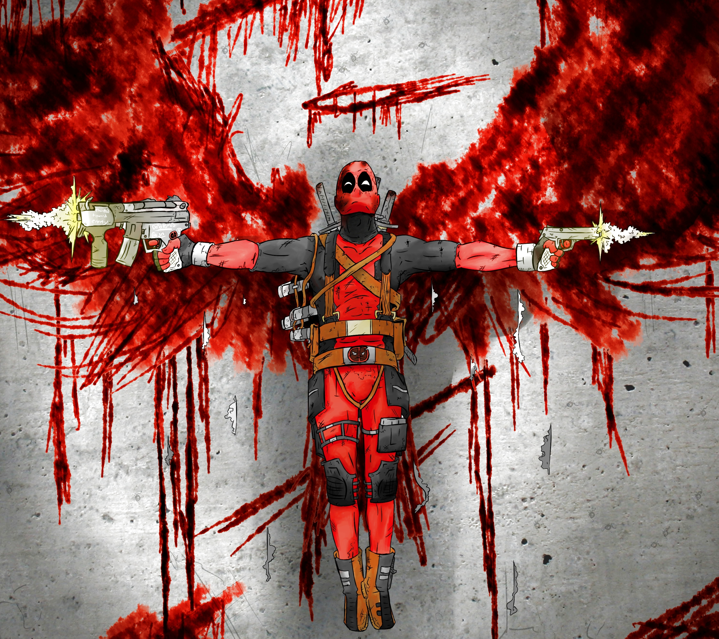 Galaxy S3 ComicsDeadpool Wallpaper ID 616217