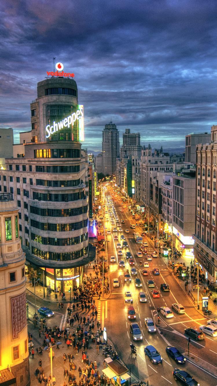 Iphone 6 Man Made Madrid Wallpaper Id 616550