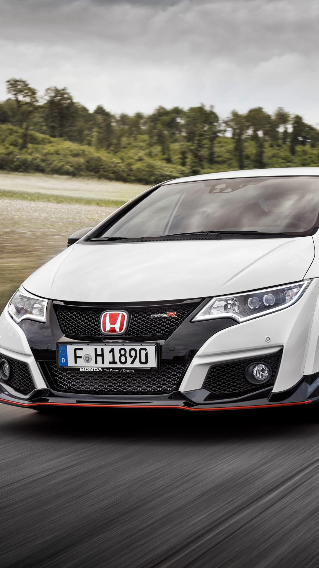Vehicles Honda Civic Type R 1080x1920 Wallpaper Id 617116