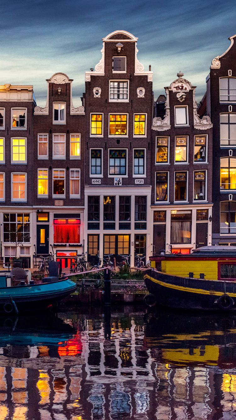 Man Made Amsterdam 750x1334 Wallpaper ID 617418
