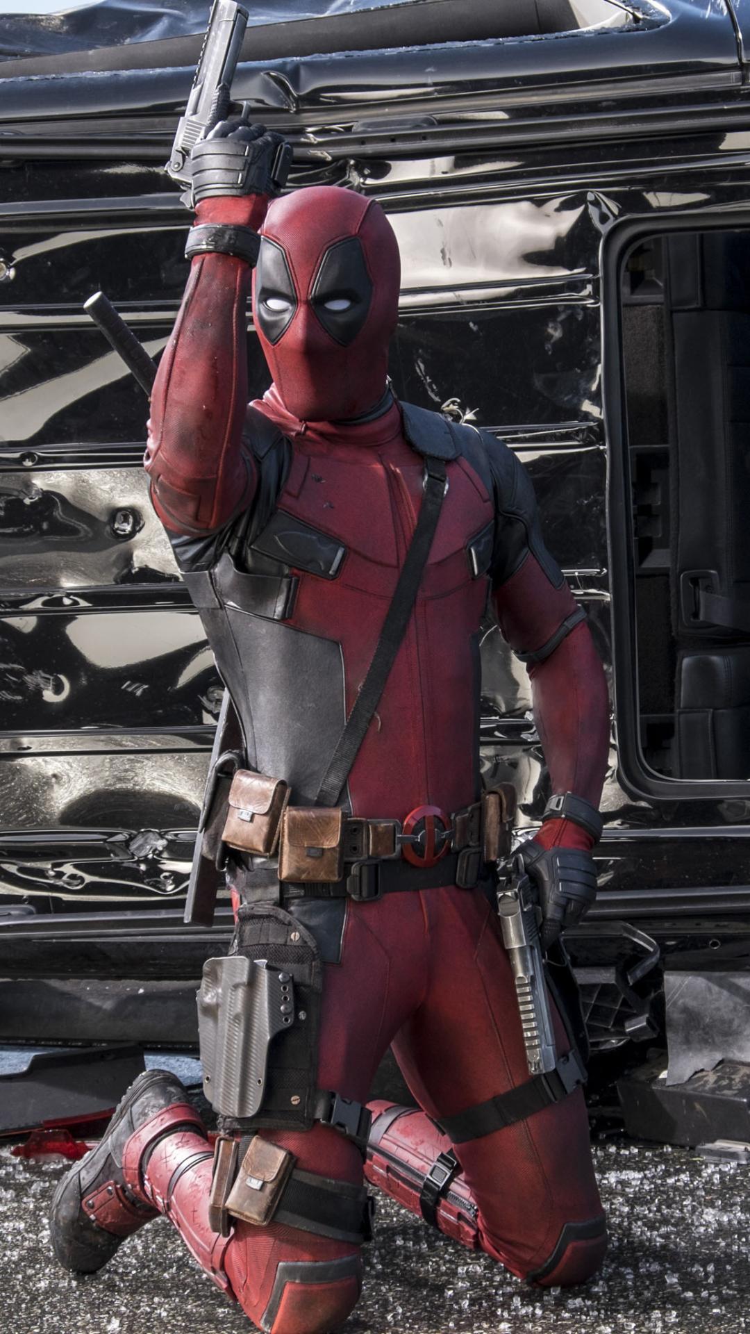 Movie Deadpool 1080x1920 Mobile Wallpaper