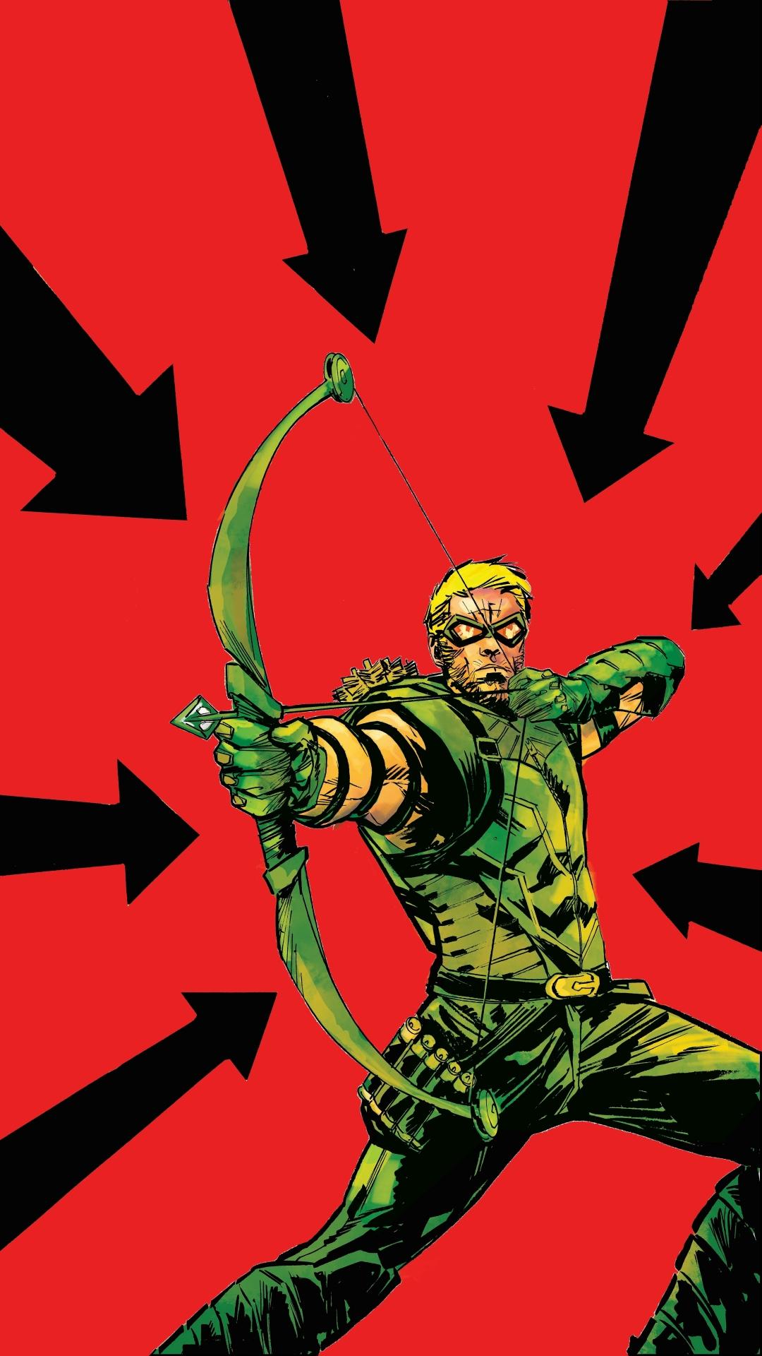 Comics Green Arrow 1080x1920 Mobile Wallpaper