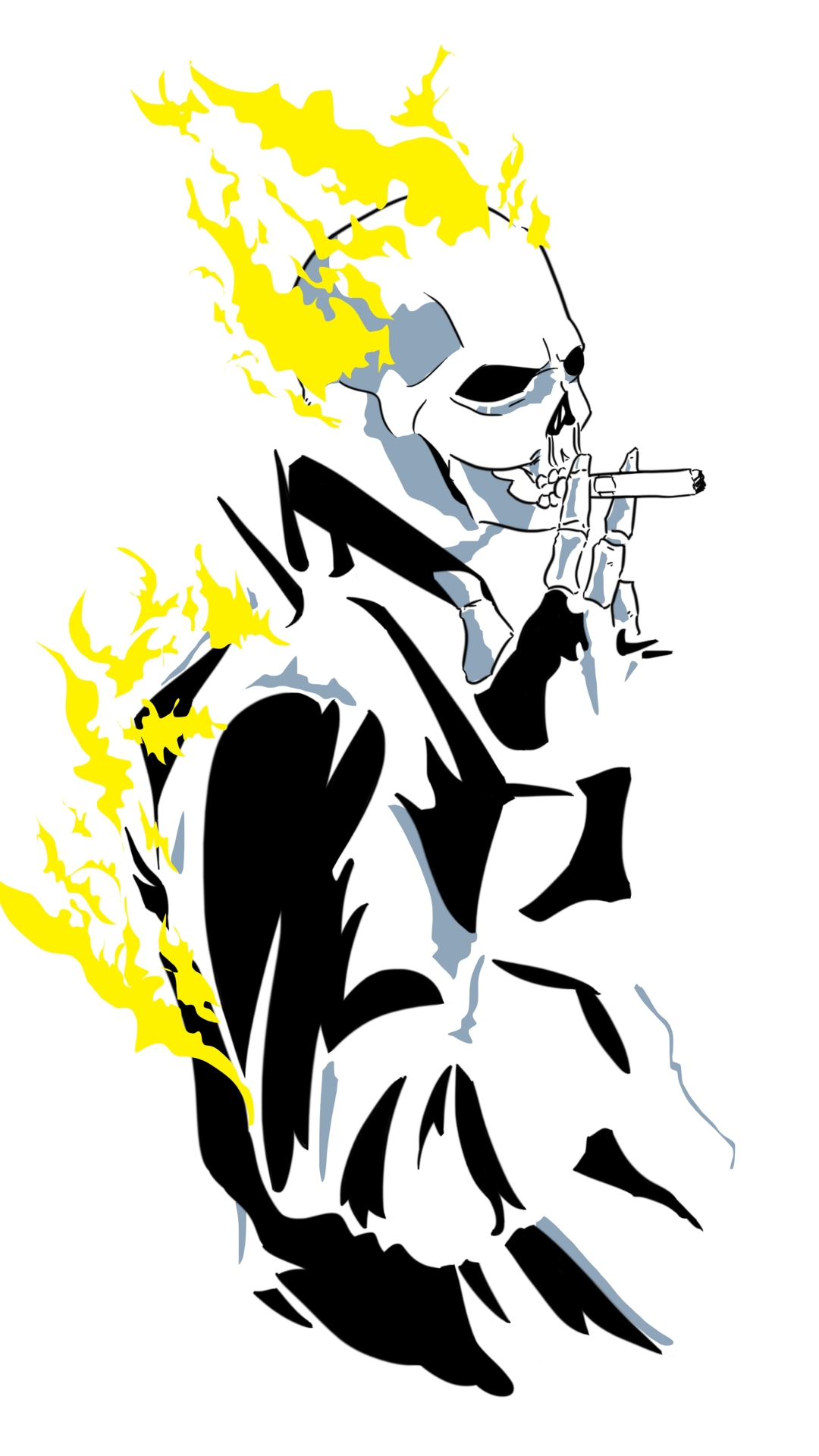 Ghost Rider - Apple/iPhone 7 - 750x1334 - 13 Wallpapers